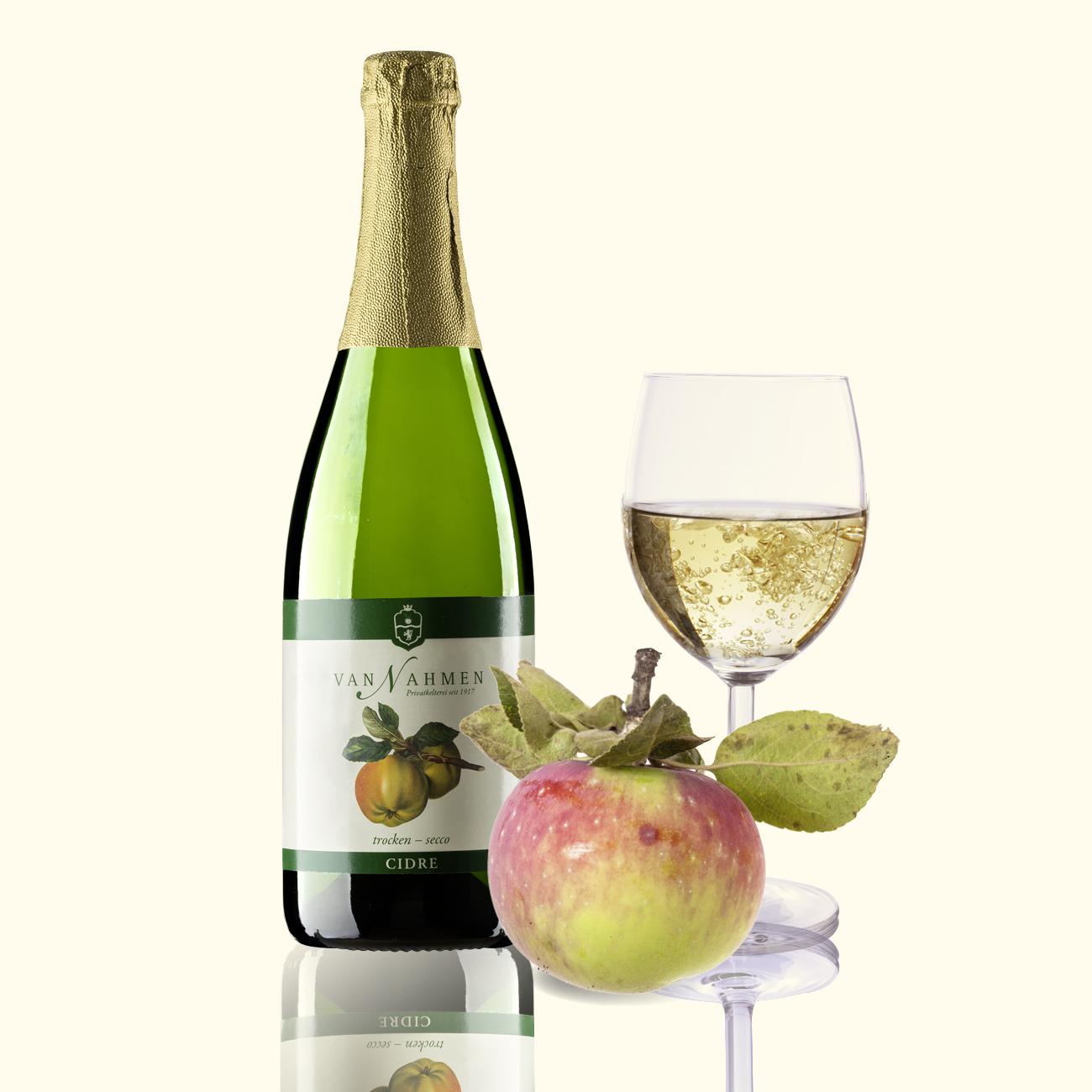Apfel-Cidre halbtrocken 4% Alk.