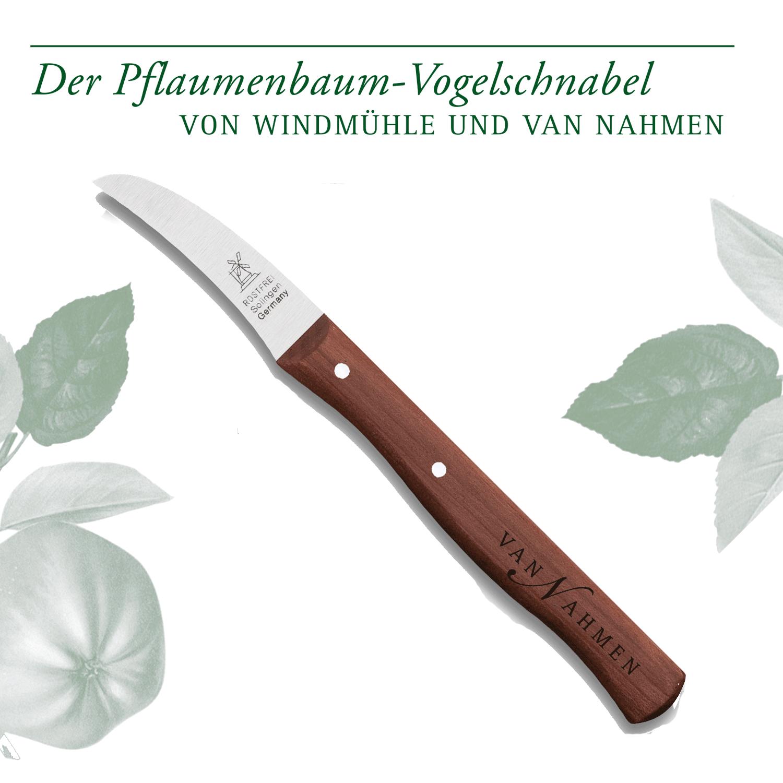 Pflaumenbaum Vogelschnabelmesser - Sonderedition van Nahmen
