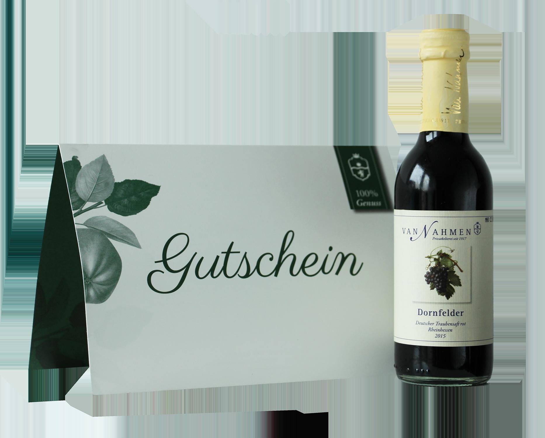 50 € Gutschein - van Nahmen