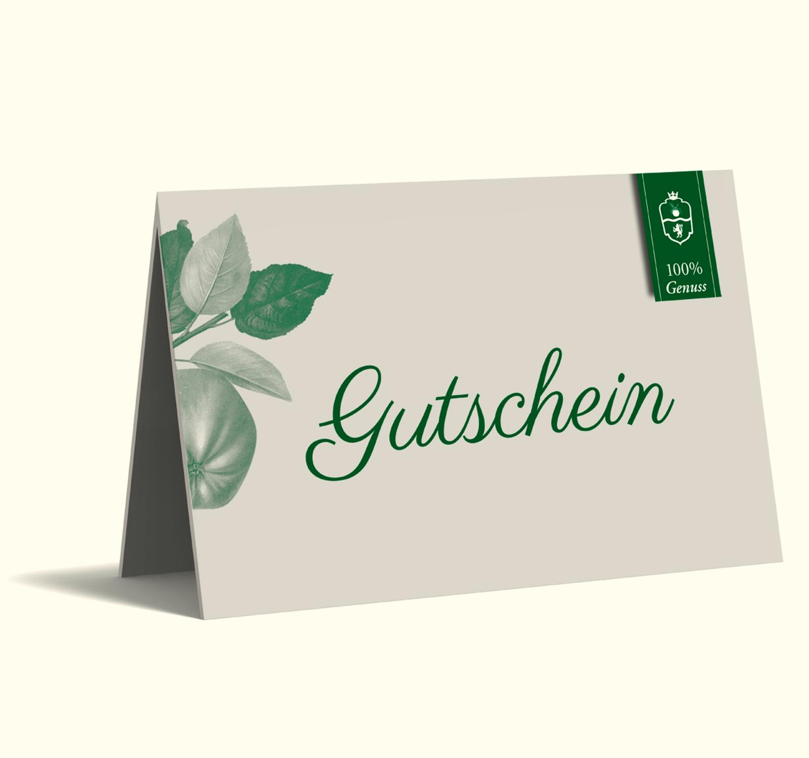 25 € Gutschein - van Nahmen