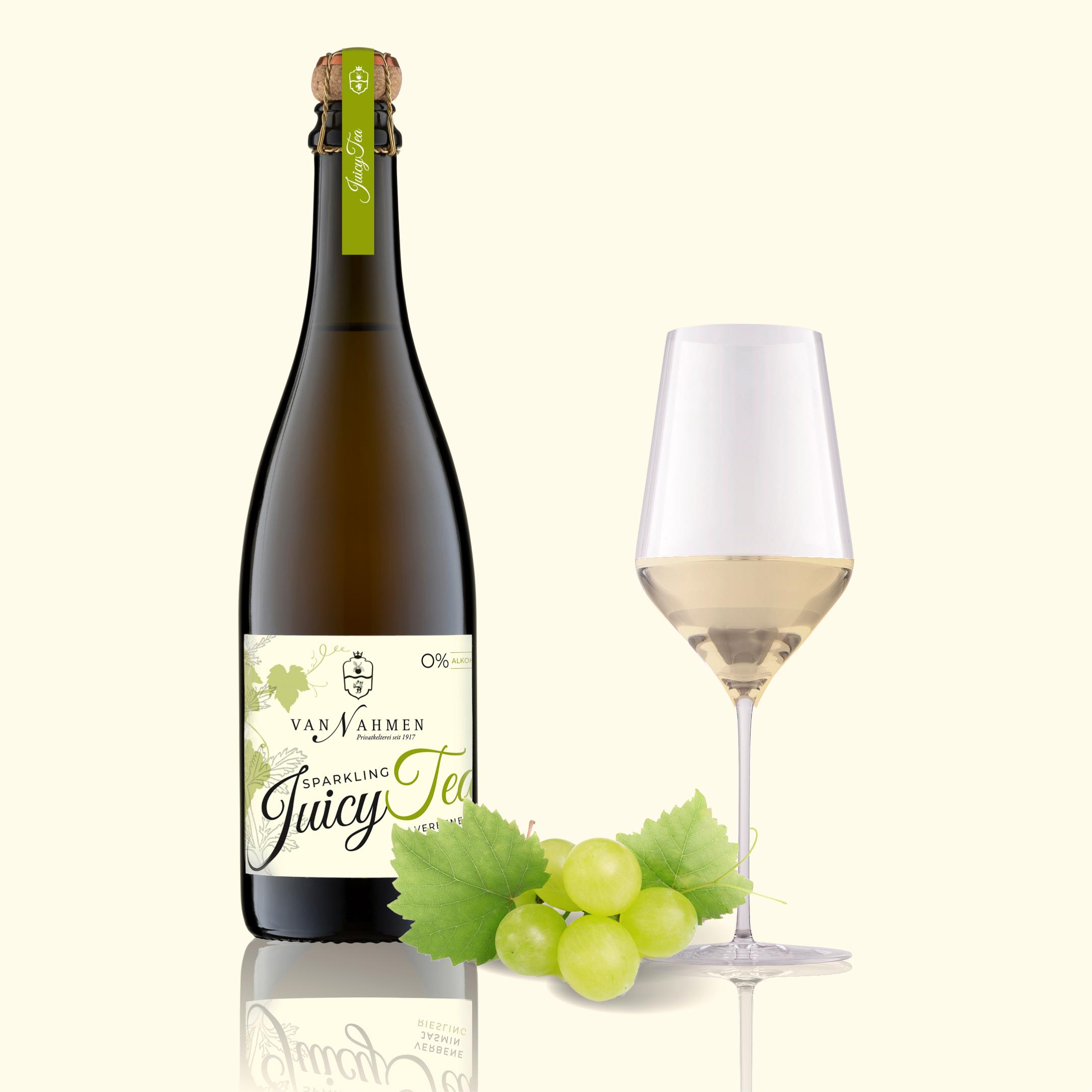 Sparkling Juicy Tea Verbena-Jasmine-Riesling (BIO)