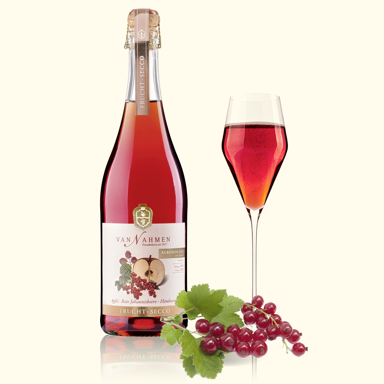Fruit-Secco Apple-Redcurrant-Raspberry